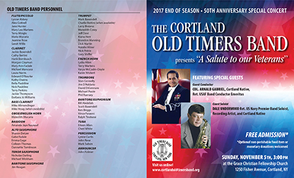 OTB 50th Anniversary Concert Poster